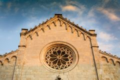 Cathedral of Pietrasanta Royalty Free Stock Image
