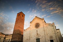 Cathedral of Pietrasanta Stock Images