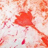 Old fabric paint Stock Photo