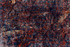 Old fabric in paint stains Royalty Free Stock Photos