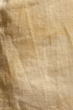 Old fabric texture. Old fabric brown texture closeup Royalty Free Stock Images