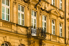 Old Facade In The Baroque Period Stock Photos
