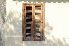 The old facade of the building. Cyprus Nicosia Stock Photos