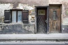 Old facade Stock Photo