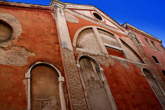 Old facade in Venice Stock Image