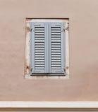 Old facade window Stock Photos