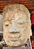 Old face buddha Stock Images