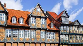 Old Fachwerk house in Wolfenbuttel. The old fachwerk house in Wolfenbuttel. Germany Stock Photo
