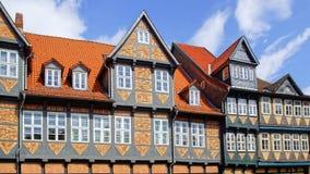 Old Fachwerk house in Wolfenbuttel. Stock Photo