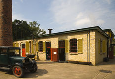 Old factory. An old Dutch cheese factory royalty free stock images