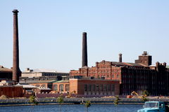 Old factory Royalty Free Stock Images