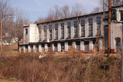 Old factory. An old factory lost to outscourcing Royalty Free Stock Photography