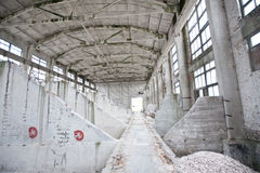 Old factory Stock Image