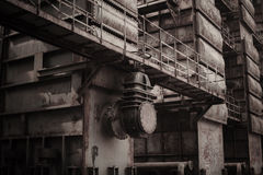Old factory. With antique color Royalty Free Stock Photos