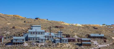 Old factory in Bodie State Historic Park Stock Images