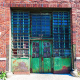 Old factory in the Bronx, NYC Royalty Free Stock Photos