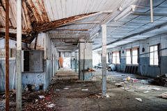 Old factory building Stock Images