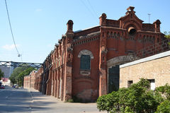 The old factory building. Royalty Free Stock Photos