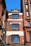 Old factory building on OFF Piotrkowska in Lodz Royalty Free Stock Photography