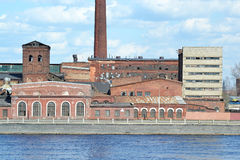 The old factory building, St.Petersburg Stock Photo