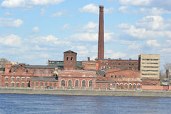 The old factory building, St.Petersburg. Royalty Free Stock Image