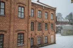 Old factory buildings Stock Photography
