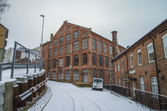 Old factory buildings Royalty Free Stock Photography