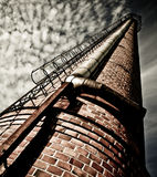 Old factory chimney Royalty Free Stock Photos