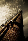 Old factory chimney Royalty Free Stock Photo