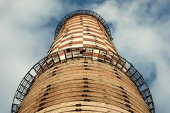 Old Factory Chimney Stock Photos