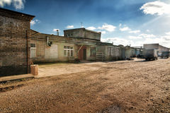 Old factory converted to offices and storage Stock Images