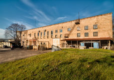 Old factory converted to offices and storage Royalty Free Stock Photo