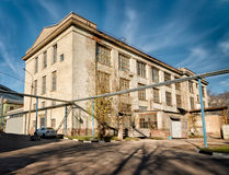 Old factory converted to offices and storage Stock Image