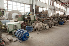 Old factory Royalty Free Stock Photography