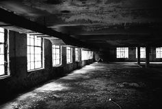 Old Factory Floor IV Royalty Free Stock Photography
