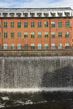 Old factory. Industrial landscape. Norrkoping. Sweden royalty free stock image