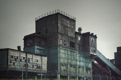 Old Factory Ironworks. Old factory, abandoned place in Poland, ironworks royalty free stock photo