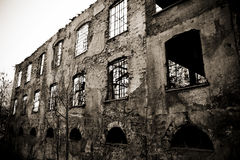 Old factory in Italy Royalty Free Stock Images