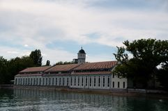 Old factory in Konstanz at Lake Constance Stock Photography