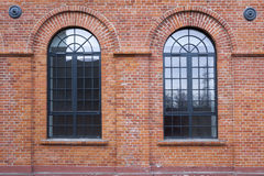 Old factory in Lodz Stock Photography