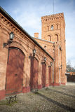 Old factory in Lodz Stock Photo