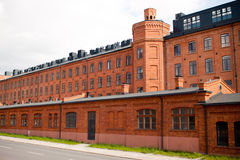 Old factory in Lodz Poland Stock Photo