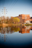 Old factory in Lodz Poland Royalty Free Stock Image