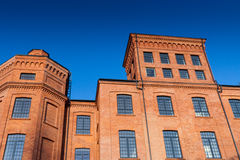 Old factory in Lodz Poland Royalty Free Stock Images