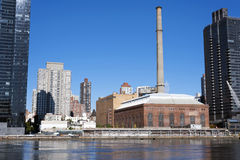 Old factory on Manhattan New York City Stock Images