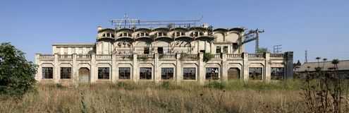 Old Factory in Manresa Spain Stock Photography
