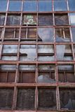 Old Factory Windows Stock Photography