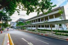 Old Faculty of Science at Chulalongkorn University. Bangkok, Thailand - May 4, 2016: Old Faculty of Science at Chulalongkorn University, Bangkok Thailand Royalty Free Stock Photos