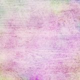 Old faded colorful background design with wood lumber or board grain wall in white grunge texture, distressed grungy pastel colors