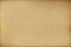 Yellow canvas texture background Royalty Free Stock Images